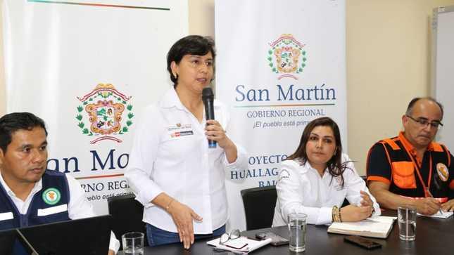 Ejecutivo trabaja de forma conjunta y articulada con autoridades de región San Martín ante alerta roja por lluvias