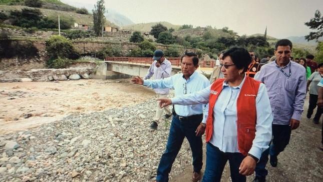 Moquegua: Gobierno monitorea los trabajos para atender  las emergencias causadas por las lluvias