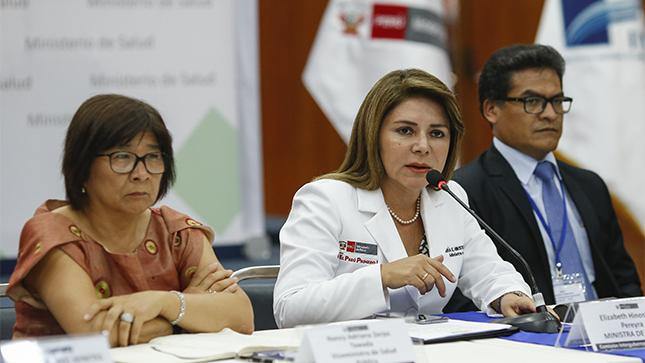 Ministra de Salud exhortó a directores regionales implementar Plan Nacional por alerta mundial ante el COVID-19