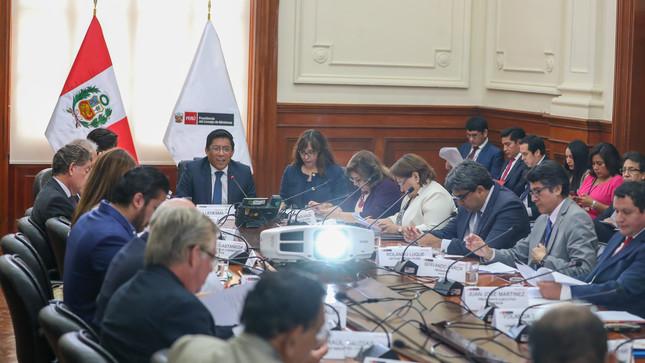 Comisión de Alto Nivel Anticorrupción presentará iniciativas legislativas al Congreso para fortalecer la lucha contra la corrupción