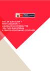 Vista preliminar de documento Guía de Ejecución post Ejecución y Liquidación de Proyectos a través de Núcleos Ejecutores