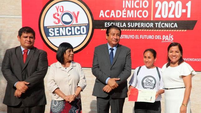 Más de 1600 estudiantes iniciaron el año académico 2020-I en la Escuela Superior Técnica del Sencico