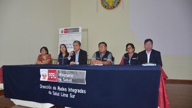 CENARES participó de reuniones técnicas con las DIRIS