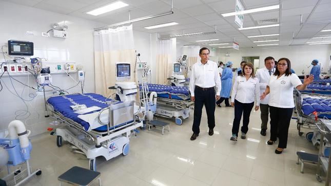 Gobierno presenta nuevo hospital de Ate que será exclusivo para casos de  coronavirus | Gobierno del Perú