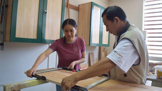 Aula taller de carpintería para no carpinteros
