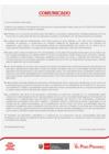 Vista preliminar de documento Comunicado - A la comunidad universitaria