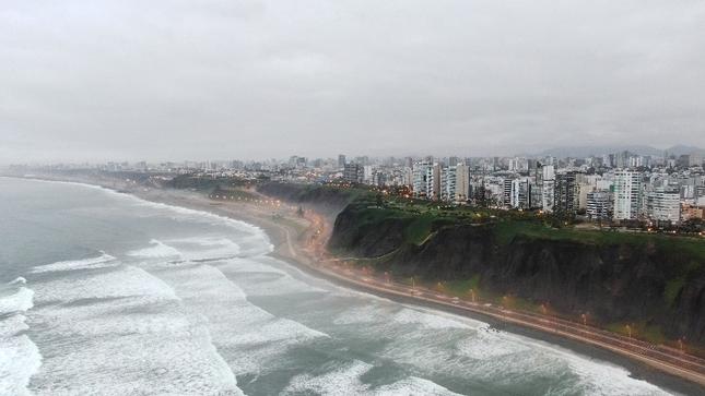 Calidad de aire en Lima durante cuarentena alcanzó niveles que recomienda Organización Mundial de Salud