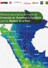 Vista preliminar de documento Memoria descriptiva del mapa de Contenido de Humedad de Equilibrio para la Madera en el Perú