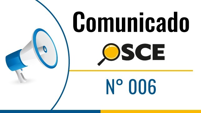 Comunicado N° 006-2020
