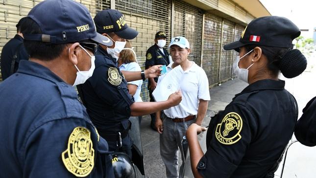Más de 1,400 detenidos fueron incluidos en registro de infractores de la cuarentena