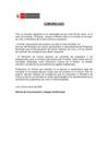 """Vista preliminar de documento Comunicado sobre incendio en el solar """"El Buque"""""""