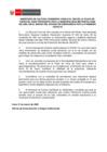 Vista preliminar de documento Comunicado sobre uso de la Plaza de Toro de Acho