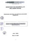 Vista preliminar de documento Protoloco de visitas domiciliarias a personas adultas mayores, usuarias de Pensión 65 para la prevención del coronavirus