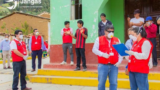 CONTRALORÍA REALIZA VISITA A LA MUNICIPALIDAD DISTRITAL DE JANGAS PARA EFECTUAR SU LABOR DE TRANSPARENCIA EN EL MARCO DE LA EMERGENCIA SANITARIA COVID-19