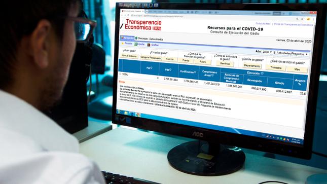 MEF presenta Consulta Amigable COVID-19 para hacer seguimiento de la ejecución de recursos públicos para luchar contra el coronavirus