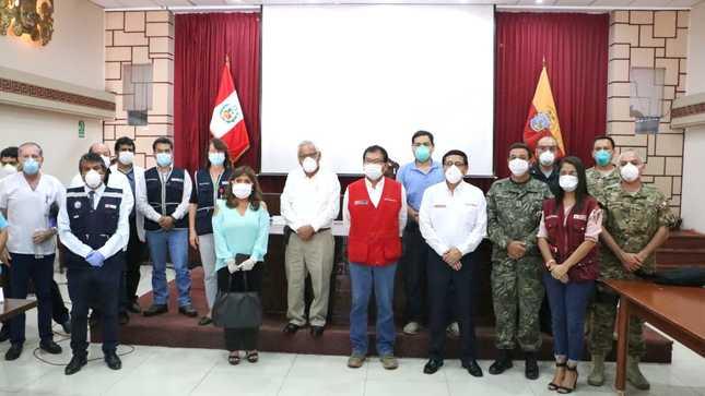 Se instala Base Comando Covid en la región Lambayeque