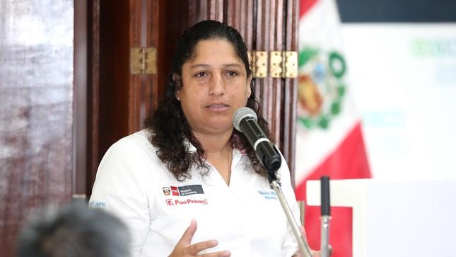 """Ministra Fabiola Muñoz: """"Se fortalecerá control en las fronteras para evitar propagación del coronavirus"""""""