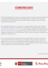Vista preliminar de documento Comunicado: Mesa de partes virtual del Minedu para trámites con entidades públicas