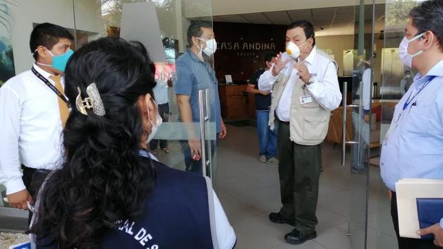 Minsa brinda asistencia técnica a Lambayeque, Ucayali y Áncash