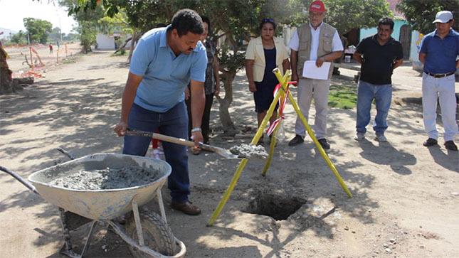 Se inició la instalación de un espacio cultural en Saltur
