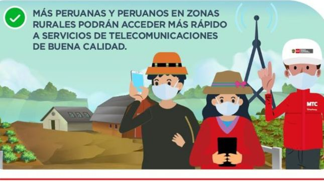 MTC aprueba norma para acelerar ejecución de proyectos de telecomunicaciones en el Perú