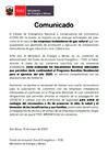 Vista preliminar de documento Comunicado FISE: Programa BonoGas