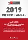 Vista preliminar de documento INFORME ANUAL 2019 SOBRE PEDIDOS DE ACCESO A LA INFORMACIÓN A LAS ENTIDADES PÚBLICAS