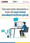Vista preliminar de documento Guía para enviar documentos a través del canal virtual mesadepartes@osce.gob.pe
