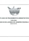 Vista preliminar de documento TEXTO ÚNICO DE PROCEDIMIENTOS ADMINISTRATIVOS DEL GOBIERNO REGIONAL DE MADRE DE DIOS