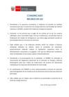 Vista preliminar de documento Comunicado: Recibos de Luz
