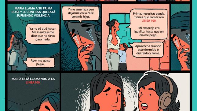 MIMP lanza serie de historietas para prevenir la violencia de género durante la emergencia por Covid-19