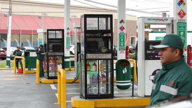 Precios de combustibles  muestran reducción progresiva en el país