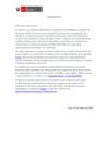 Vista preliminar de documento Comunicado: Canales de atención virtual - Minedu sigue atendiendo