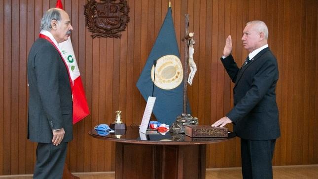 General de Brigada EP Alonso Leonardo Esquivel Cornejo asume la presidencia del Fuero Militar Policial