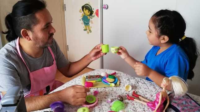 """MIMP: Integrante del colectivo """"Hombres por la Igualdad"""" pone en práctica lo aprendido en las capacitaciones"""