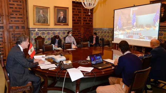 El Perú participó en conferencia internacional de donantes en solidaridad con refugiados y migrantes venezolanos en países de la región en el contexto del COVID-19