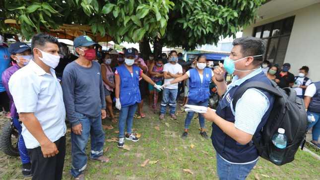 Loreto: Ejecutivo articula acciones sanitarias contra el COVID-19