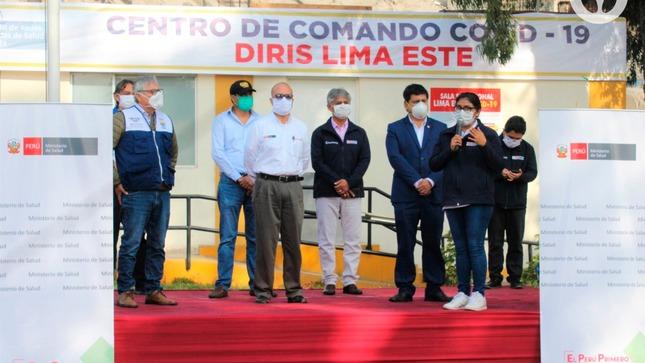 Hospital Emergencia Ate Vitarte participó en ceremonia protocolar organizada por DIRIS Lima Este