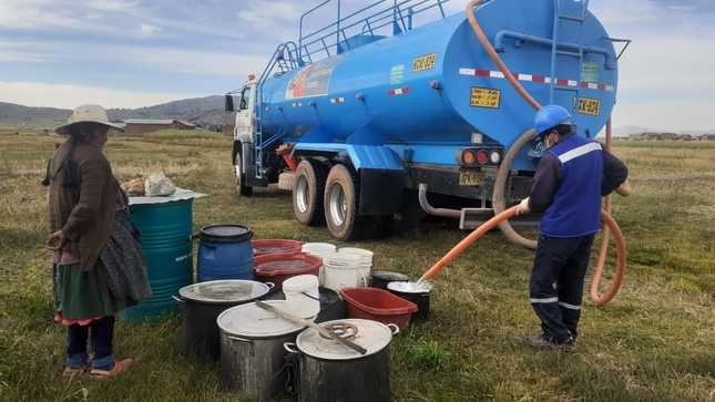 Puno: MVCS distribuirá agua potable a las comunidades rurales de Huata, Coata y Capachica