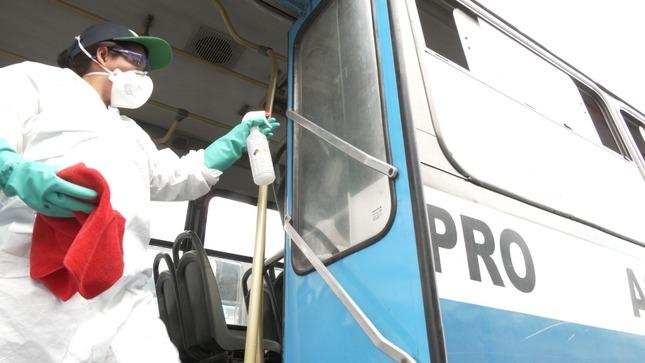 ATU adjudica la supervisión de la limpieza y desinfección de las unidades de transporte urbano