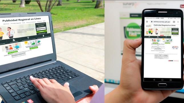 ¡Usuarios podrán obtener virtualmente copias literales de partidas registrales a nivel nacional!