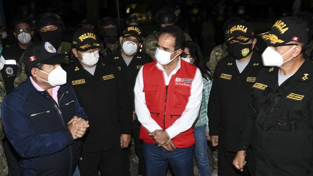 Ministro del Interior lideró megaoperativo contra delincuencia en Carabayllo