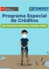 Vista preliminar de documento Programa Especial de Créditos para Acuicultura de Recursos Limitados (AREL)