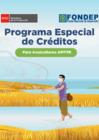 Vista preliminar de documento Programa Especial de Créditos para Acuicultores AMYPE