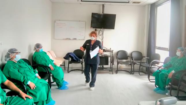Pacientes y trabajadores del INMP reciben apoyo psicológico para enfrentar el Covid-19