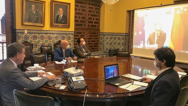 El Perú participó en la Iniciativa para América Latina y el Caribe del Ministerio Federal de Relaciones Exteriores de Alemania