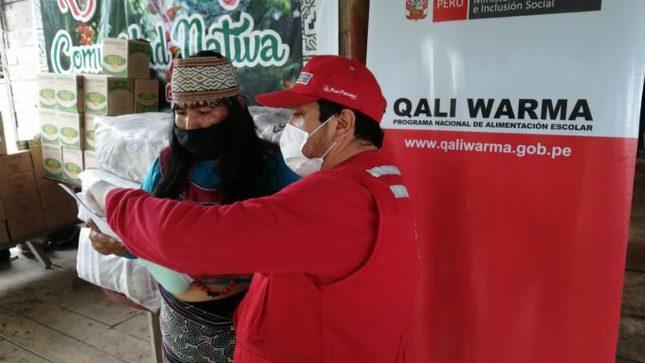 Qali Warma inició entrega de más de 33 toneladas de alimentos a 36 comunidades en Madre de Dios y dos en Cusco