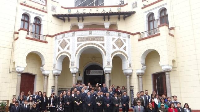 Ceremonia de Conmemoración por el 198° Aniversario de la Marina de Guerra del Perú y 140° Aniversario del Combate de Angamos