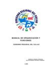 Vista preliminar de documento Documento del Manual de Organización y Funciones