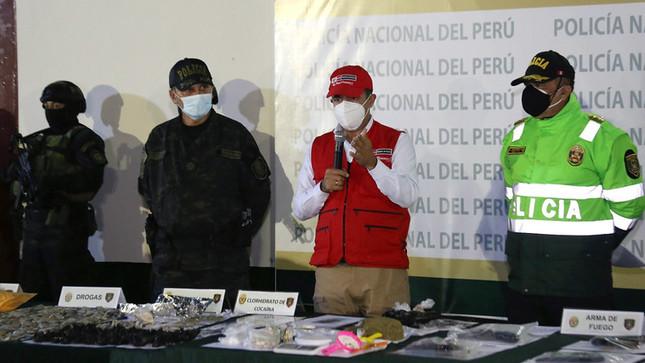 Ocho bandas criminales fueron desarticuladas tras megaoperativo en el Callao